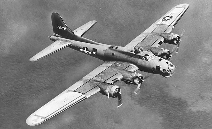 Avion Boeing - B-17