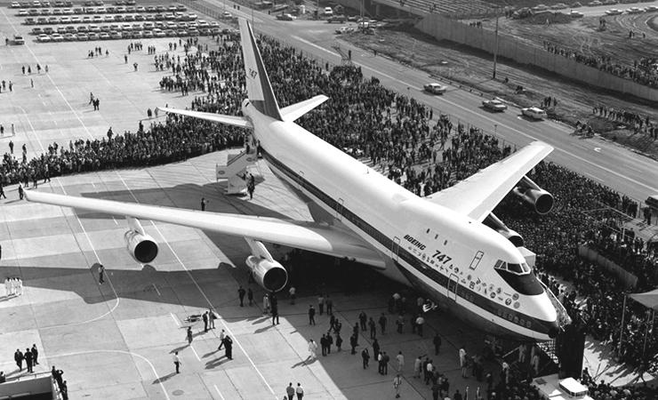 Avion Boeing - Primul 747