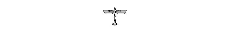 Boeing Logo - 1930