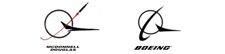 Boeing Logo si McDonnell Douglas Logo