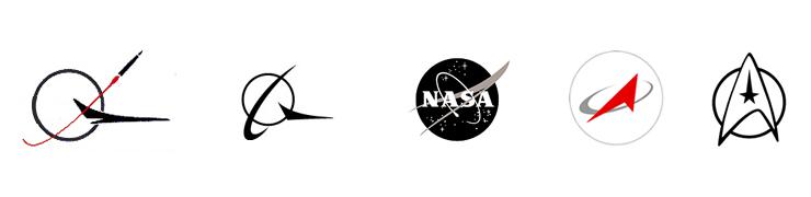 Elemente simbolice in industria aerospatiala