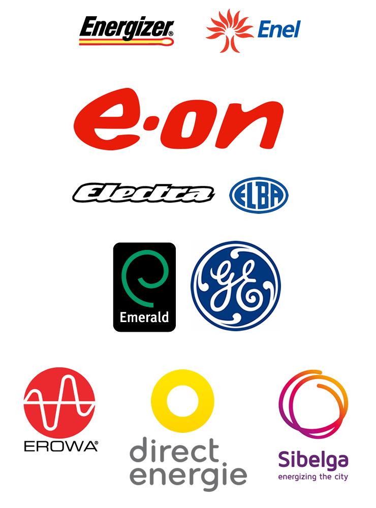 Logo - Electricitate, Arc, Curent, Energie 2