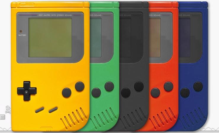 Nintendo Gameboy - Culori 2