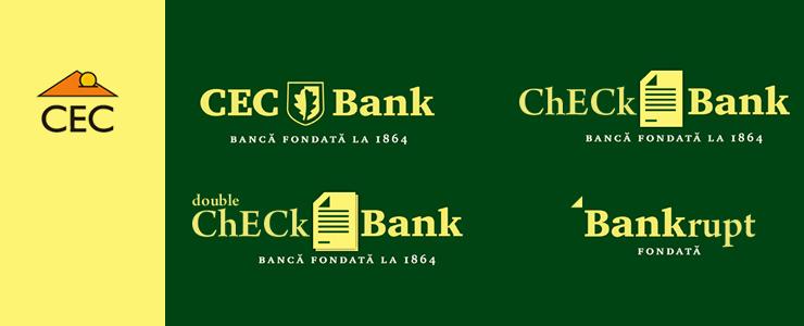 Viitorul logourilor (marcilor) romanesti - CEC